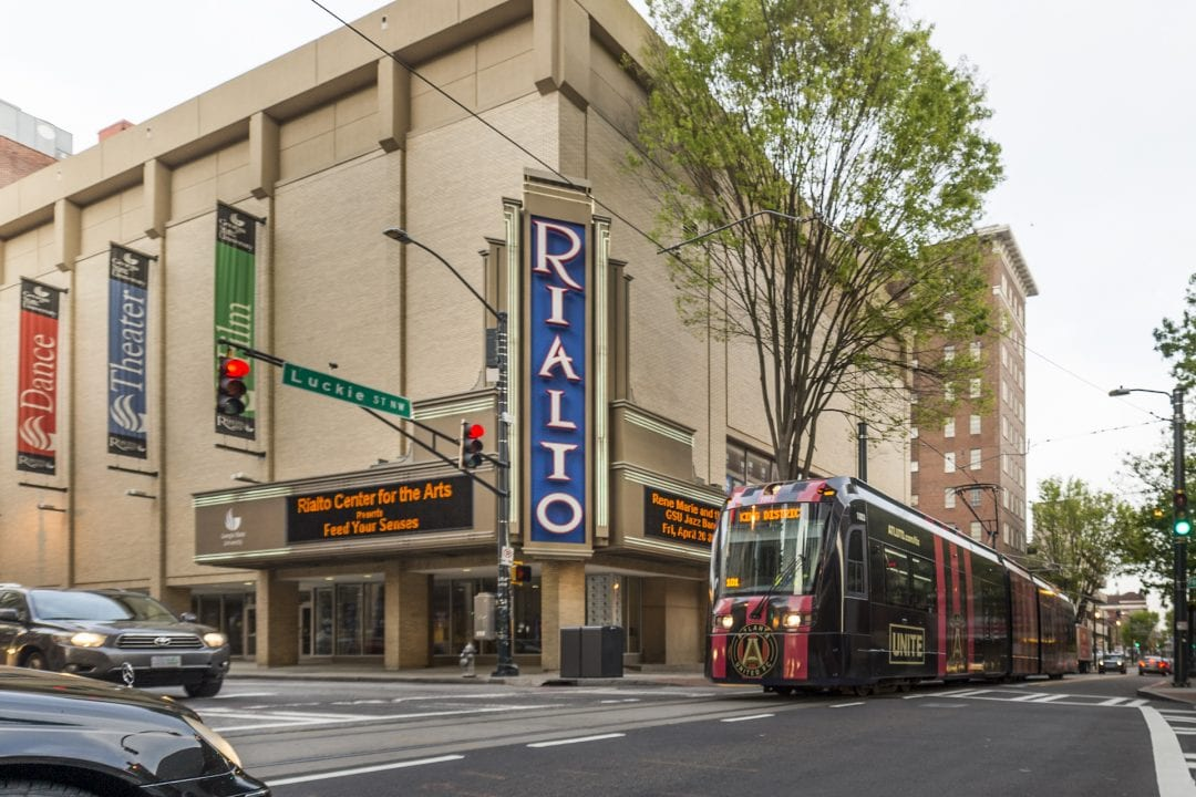 Rialto Theater with the Streetcar.